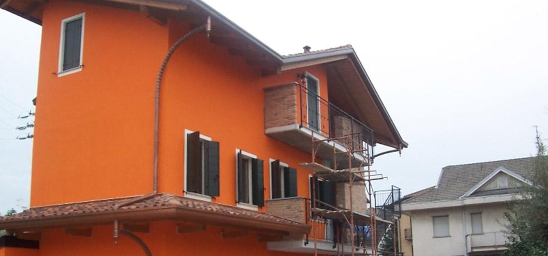 Imbiancatura esterni  a Bernareggio