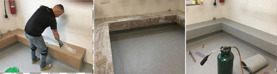 Pavimenti in PVC 102 -  a Inverigo
