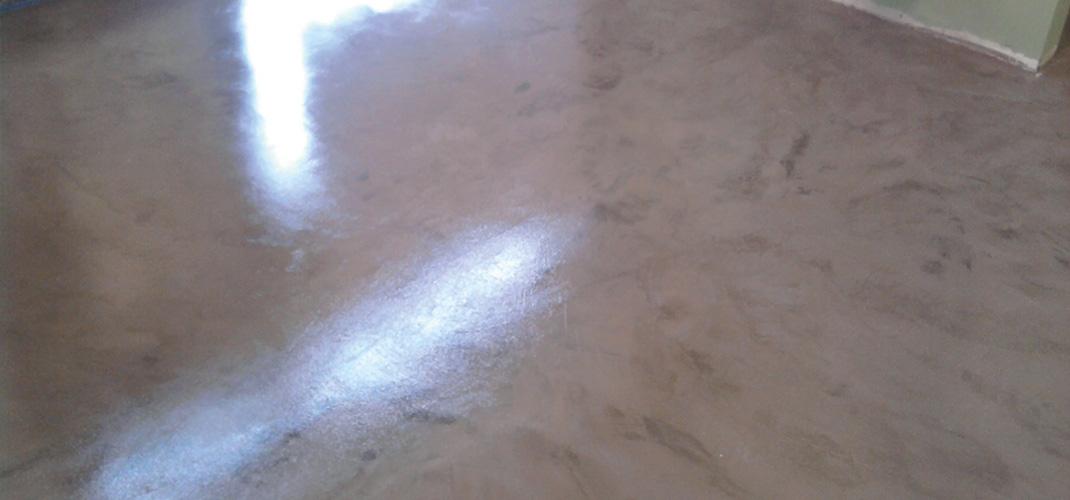 Pavimenti in resina cementizia  a Gessate